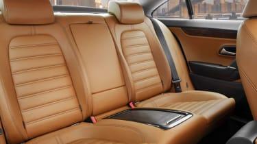 Volkswagen Passat CC rear seats
