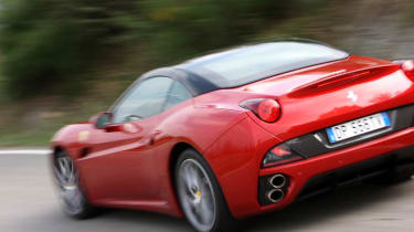 Ferrari California Stop&Start review