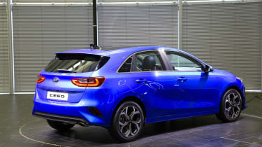 Kia Ceed launch images - rear quarter