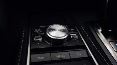 Lexus LC 500h - the knob
