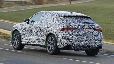 Audi RS Q3 Sportback spy - rear
