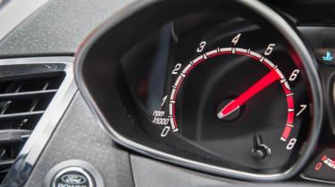 Ford Fiesta ST five-door - Dials