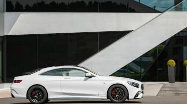 Mercedes S 63 Coupe - side