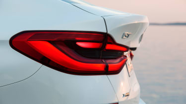 BMW 6-series GT - rear wing