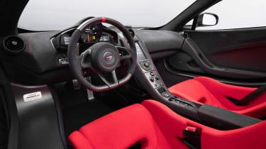 McLaren MSO R - interior