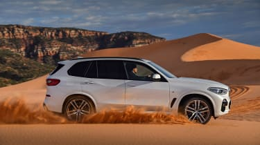2018 BMW X5 - profile