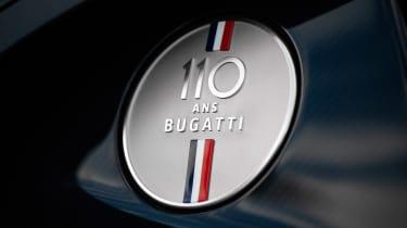 Bugatti Chiron 110 edition - badge