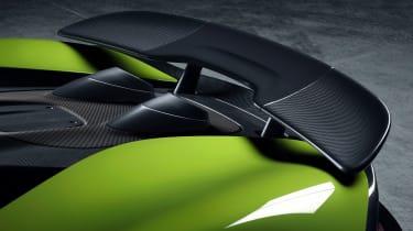 McLaren 600LT Spider wing