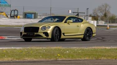 Bentley Continental GT Speed UK – cornering