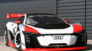 Audi e-tron Vision Gran Turismo front