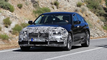 BMW 5-series facelift -