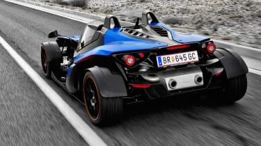 KTM X-Bow GT blue