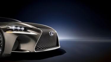 Lexus LF-CC concept front