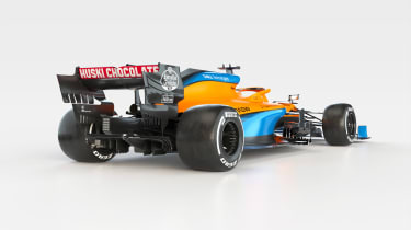 2021 Formula 1 racers – MCL35