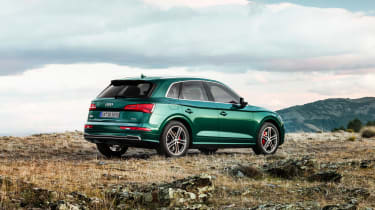 Audi SQ5 TDI 2019 - rear quarter