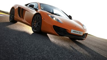 New McLaren MP4-12C review