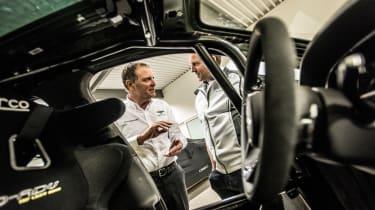 Bentley Bentayga Pikes Peak - interior