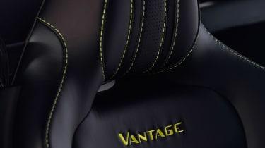 evo exclusive Aston Martin Vantage - green seats