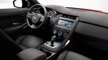 Jaguar E-Pace - driving static R Design interior 2