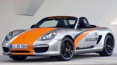Porsche Boxster electric sports car