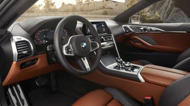 BMW M850i revealed - interior