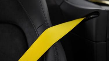 Porsche 718 Boxster GTS – seat belt
