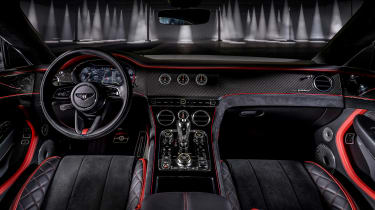 2021 Bentley Continental GT Speed - static interior