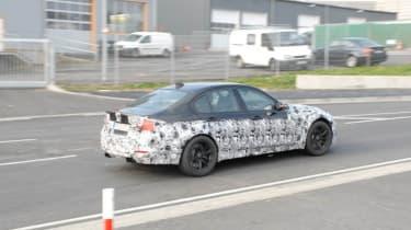 BMW M3 spied