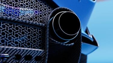 Alpine A110 GTA concept – exhaust