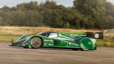 Drayson electric prototype takes electric land speed record