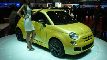 Geneva 2011: Fiat 500 Coupe by Zagato