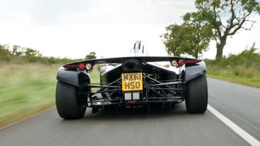 BAC Mono rear view