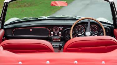Aston Martin DB6 EV interior