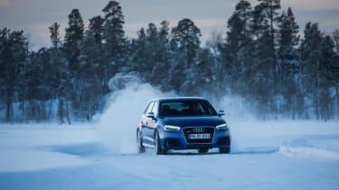 Audi RS3 - snowfront