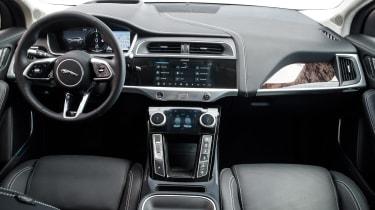 Jaguar I-Pace driving - dash