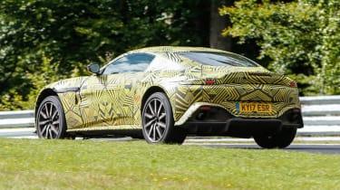 Aston Martin V8 Vantage spy - rear