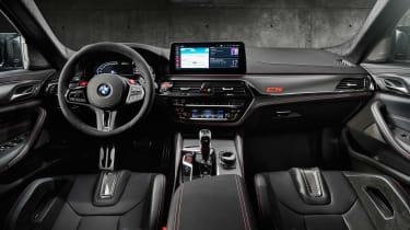 BMW M5 CS - interior
