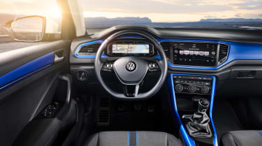 VW T-Roc - Blue interior 2