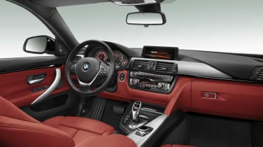 BMW 4-Series Gran Coupe interior seats