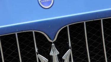 2012 Maserati GranTurismo Sport trident badge