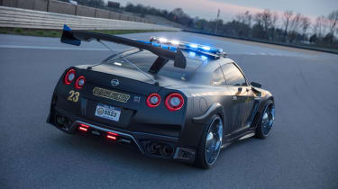 Nissan GT-R Police Pursuit #23 'Copzilla' - Rear