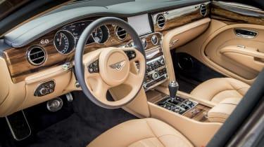 Bentley Mulsanne - interior