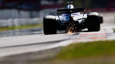 Formula One Round 13 - Williams rear