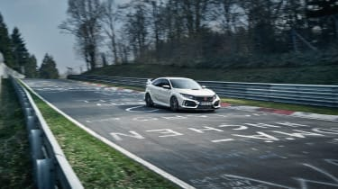 Honda Civic FK8 Type R - Nurburgring
