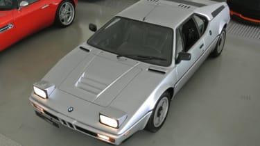 BMW M1 – top shot