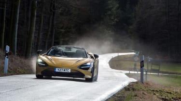 Pirelli winter tyres campaign - McLaren drive back