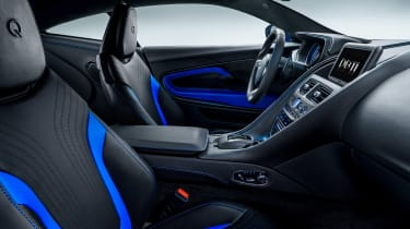 Q by Aston Martin DB11 - interior