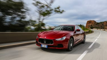 Maserati Ghibli 2016 - red front