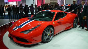 Frankfurt motor show 2013 Ferrari 458 Speciale