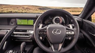 Lexus LC500 – cabin
